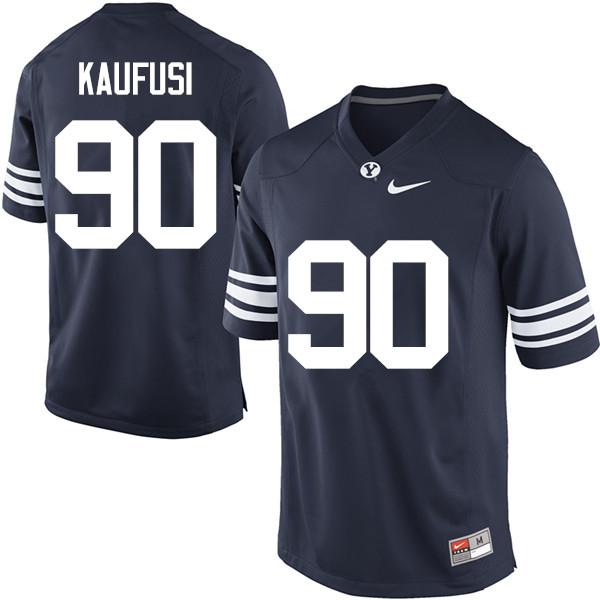 hot sale online cba21 5e33e Bronson Kaufusi Jersey : BYU Cougars College Football ...