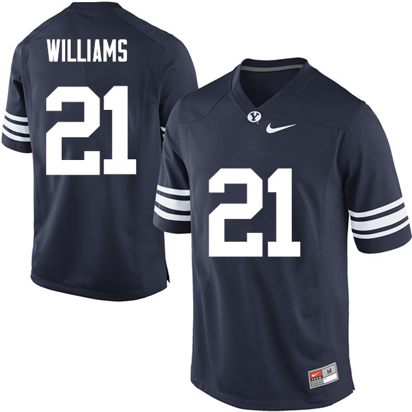 newest c68c2 42c7c Jamaal Williams Jersey : BYU Cougars College Football ...